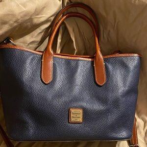 Dooney and Bourke navy handbag